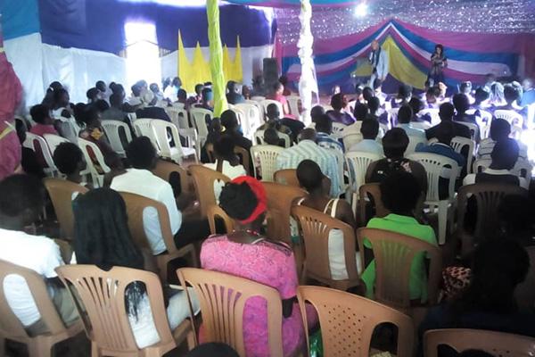 Sunday Service in Uganda
